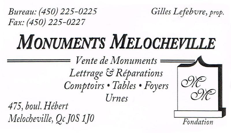 Monuments Mélocheville